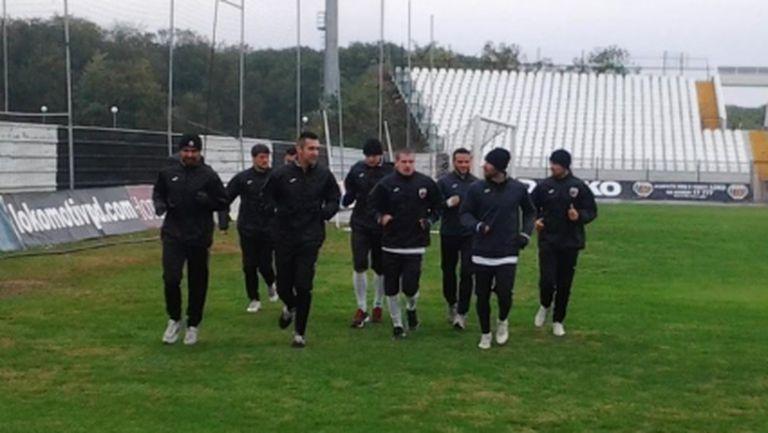 Локо Пд тренира без Бирсент Карагерен