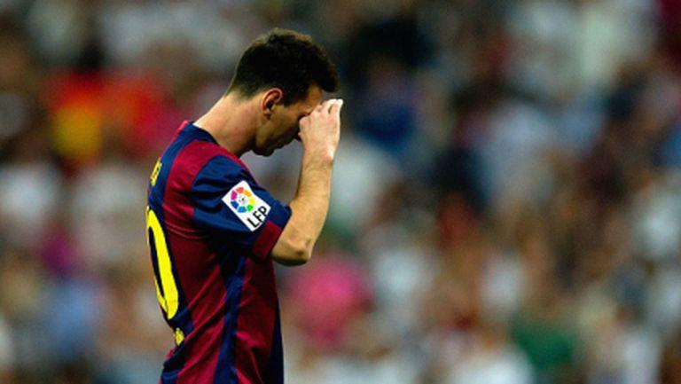 Меси е играл на инжекции срещу Реал Мадрид