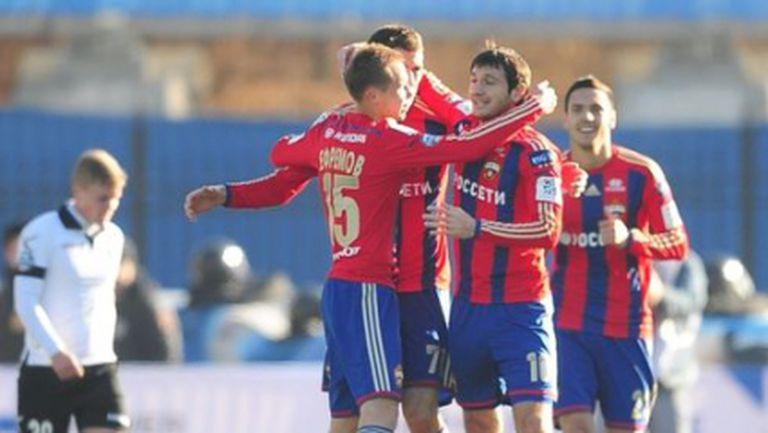 ЦСКА (Москва) и Георги Миланов са на 1/4-финал за Купата на Русия (видео)