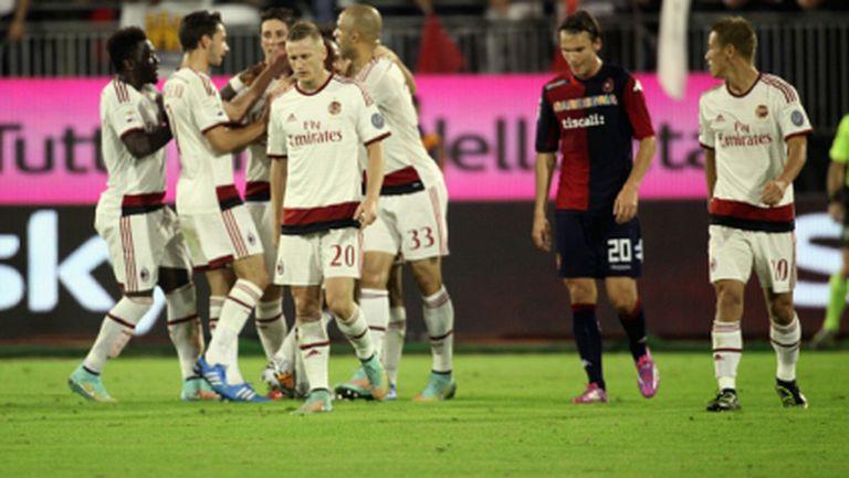 Милан се измъкна срещу момчетата на Земан (видео+галерия)