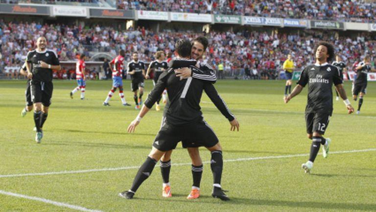 Реал Мадрид пак удиви с превъзходен футбол, Кристиано заби 50-и гол (видео+галерия)