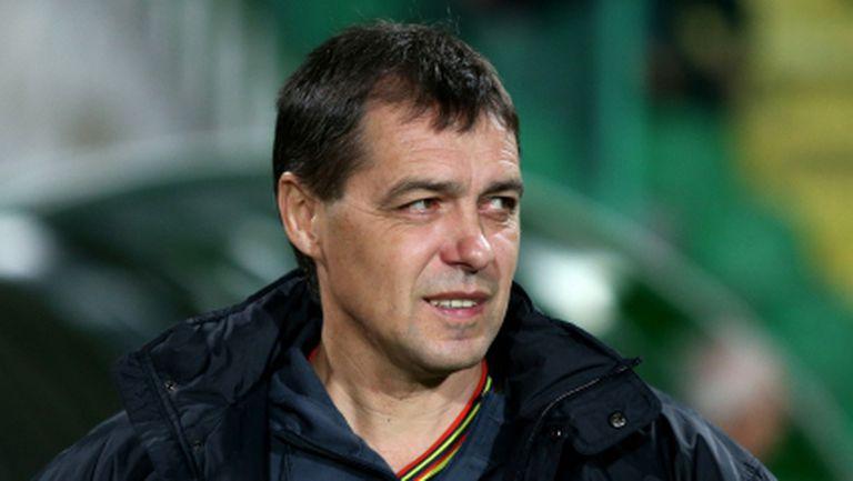 Хубчев: Жалко, че с Левски ще играем пред празни трибуни