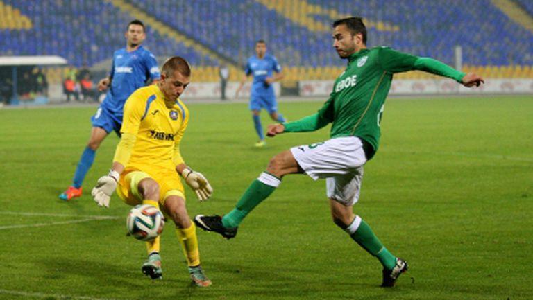 Нов куриозен гол постави Левски на колене срещу Берое (видео+галерия)