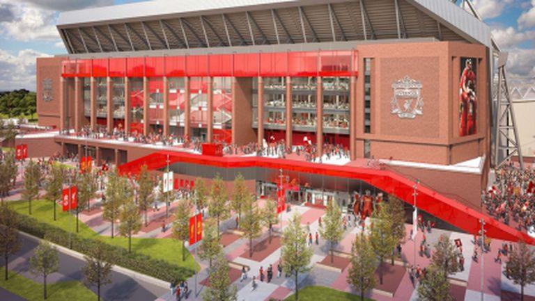 Ливърпул преговаря за спонсорско име на стадиона