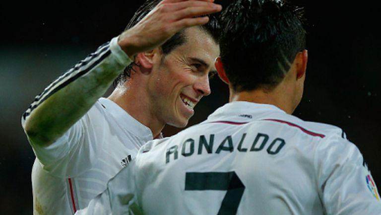 Бейл: Искам да стана като Роналдо