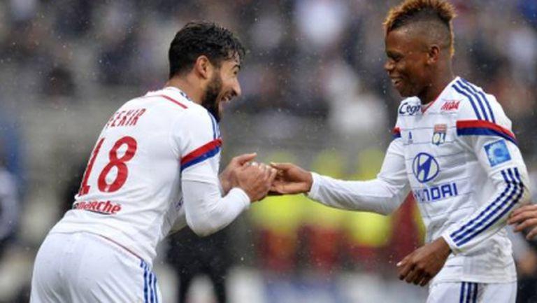 Юношите на Лион продължават наказателната си операция в Лига 1