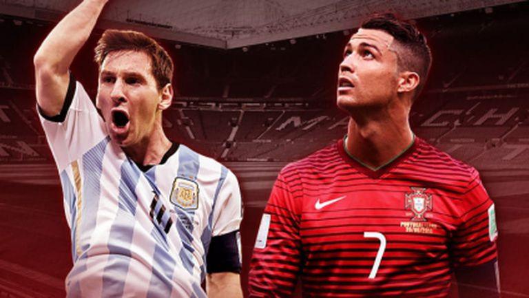Меси срещу Роналдо няма как да е само една контрола