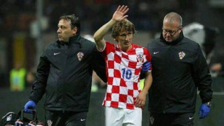 Мадрид остана без шаман с контузията на Модрич