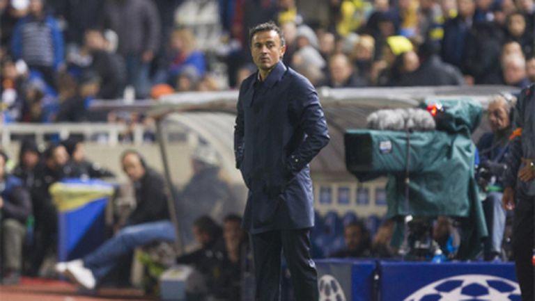 Луис Енрике: Меси ще играе на различни позиции