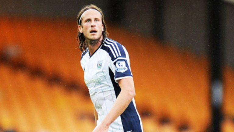 Уест Бромич загуби защитник до края на годината