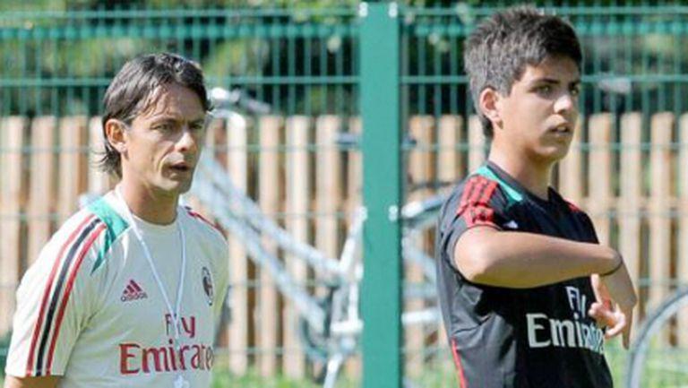 Синът на Паоло Малдини с първи гол за Милан