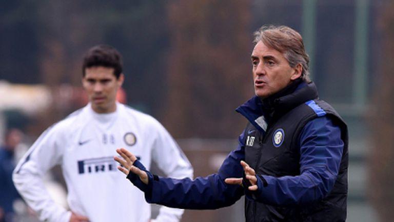 """Интер без Ернанес и Нагатомо срещу Рома, вижте групата на """"нерадзурите"""""""
