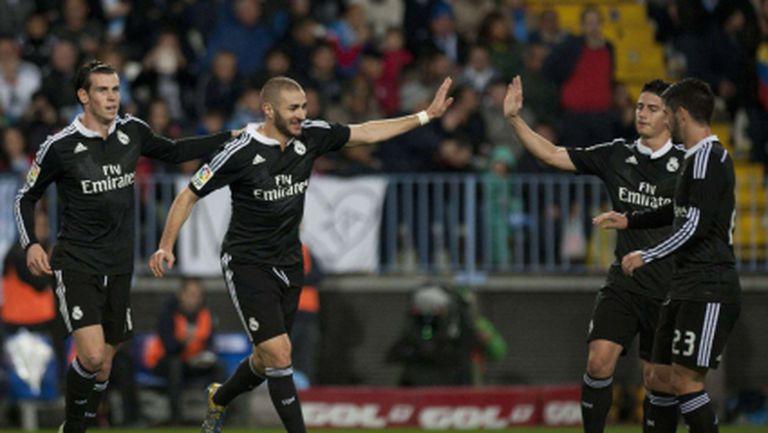 Реал Мадрид счупи рекорд с 16-а поредна победа (видео+галерия)