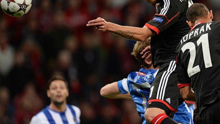 Байер удари Реал Сосиедад в добавеното време (видео)