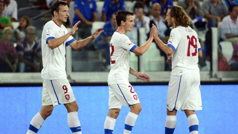 Съставът на Чехия за квалификациите с България и Малта