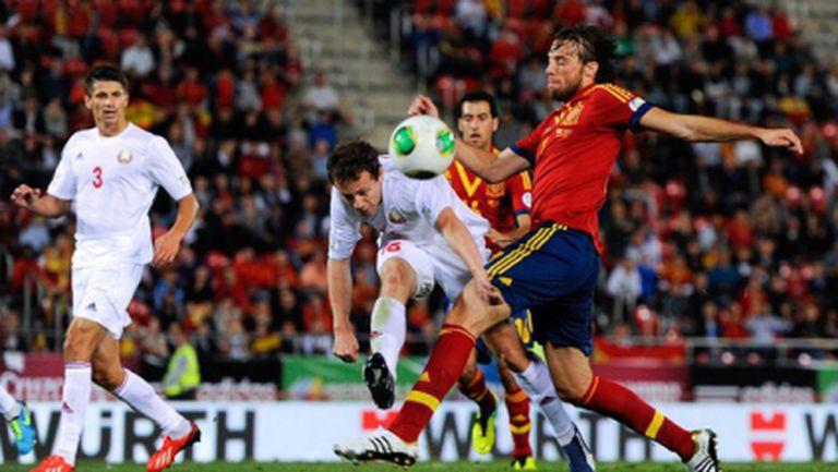 Испания на практика е на финалите (видео)