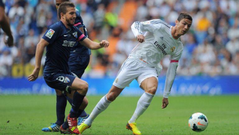 Реал Мадрид заигра суперфутбол, но изпусна много и получи дузпа подарък (видео)