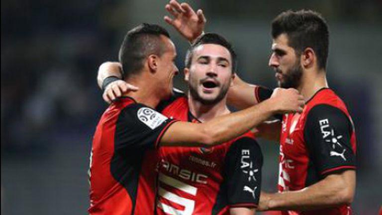 Рен разкъса Тулуза като гост с пет гола