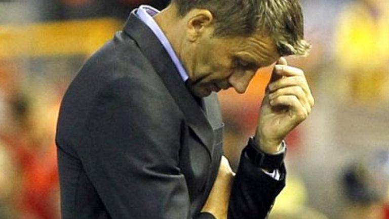 Треньорът на Валенсия: Много сме слаби
