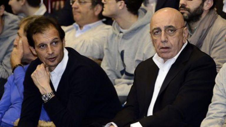 Галиани: Говорих с Берлускони, Алегри остава и Балотели не се продава