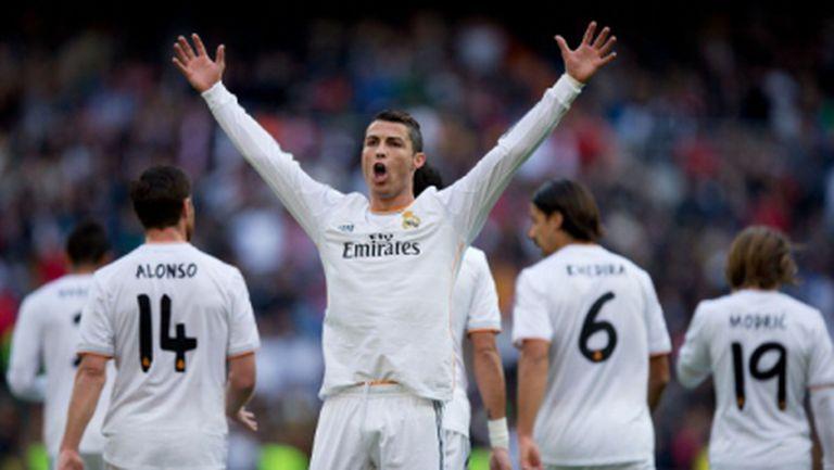 Реал Мадрид и Кристиано вилняха здраво срещу баски (видео)