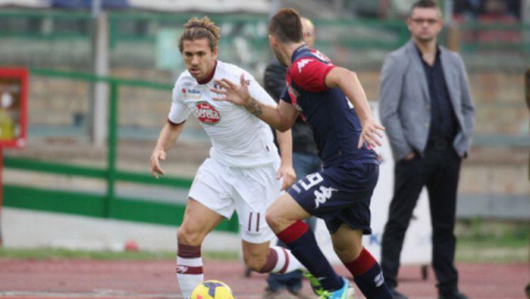 Каляри надви Торино с два гола на Конти (видео)