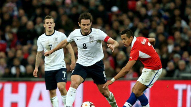 """Чили направи за смях Англия на """"Уембли"""" (видео)"""