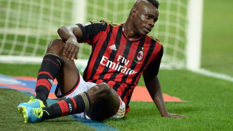 Милан дава Балотели на Моуриньо за 30 милиона евро