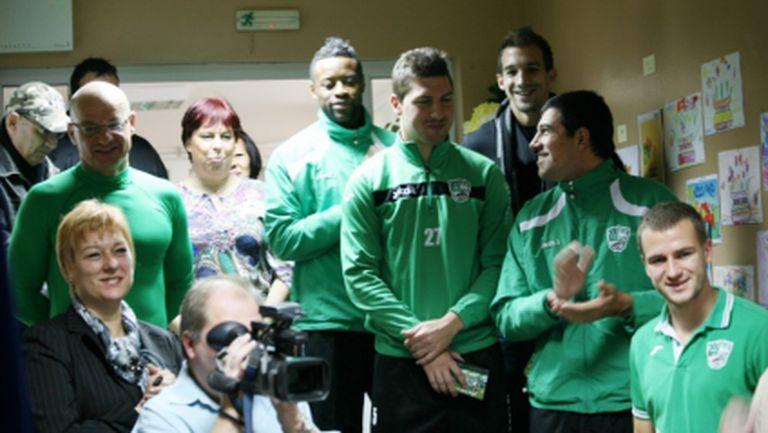 Футболистите на Берое направиха дарение на детска градина