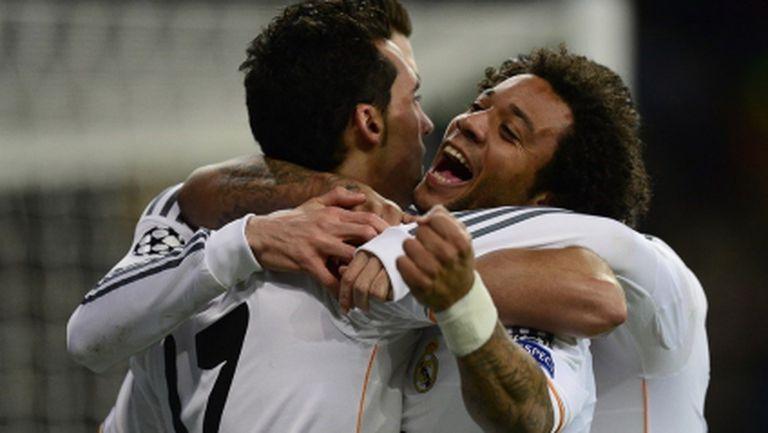 Без Кристиано и с човек по-малко, Реал отново разби Галатасарай (видео)