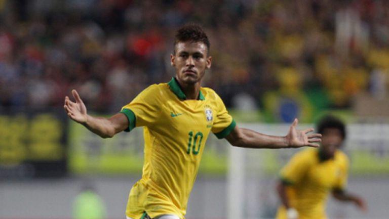 """Неймар в """"Осмели се да бъдеш бразилец"""" (видео)"""