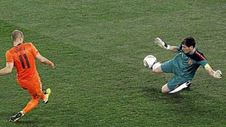 Робен потрива ръце, че ще играе срещу Испания