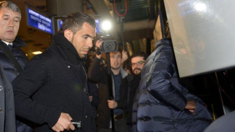 Посрещат Ювентус с полиция в Истанбул