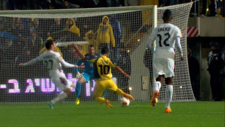 Макаби (ТА) удари Бордо и очаквано е на 1/16-финал (видео)