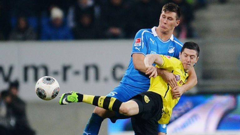 Дортмунд показа дух, но загуби поредни точки (видео)