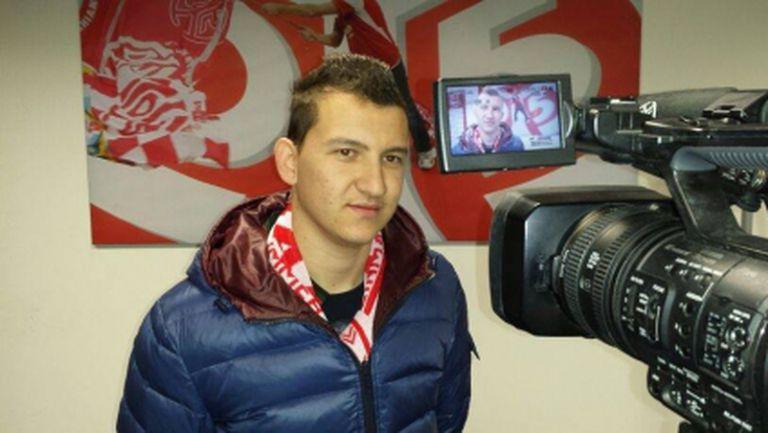 Тодор Неделев впечатлен от новото си работно място