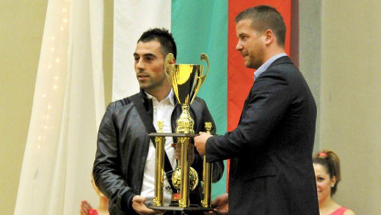 Берое е отбор на годината, а Хубчев - треньор на годината в Стара Загора