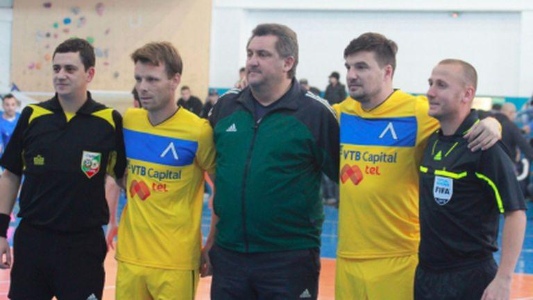 "Йовов и Топузаков не бяха достатъчни на ""сините"" срещу Левски София-Запад (видео+галерия)"