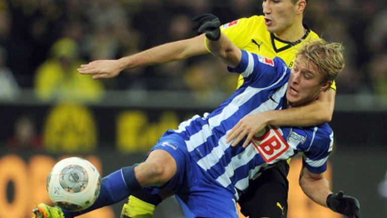 Младите провалиха Дортмунд, кошмарен край на годината за вестфалци (видео)