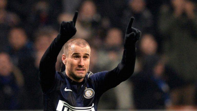 Прекрасен гол с пета реши дербито на Милано (видео+галерия)