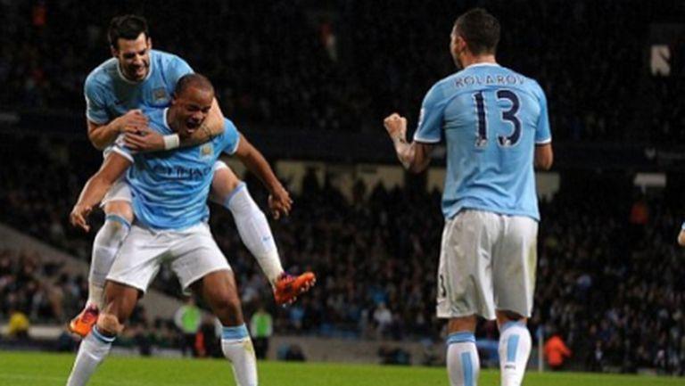 Ман Сити свали Ливърпул от върха с поредната си домакинска победа