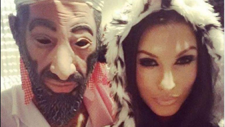 Джърмейн Пенант разбуни духовете с маска на Осама Бин Ладен