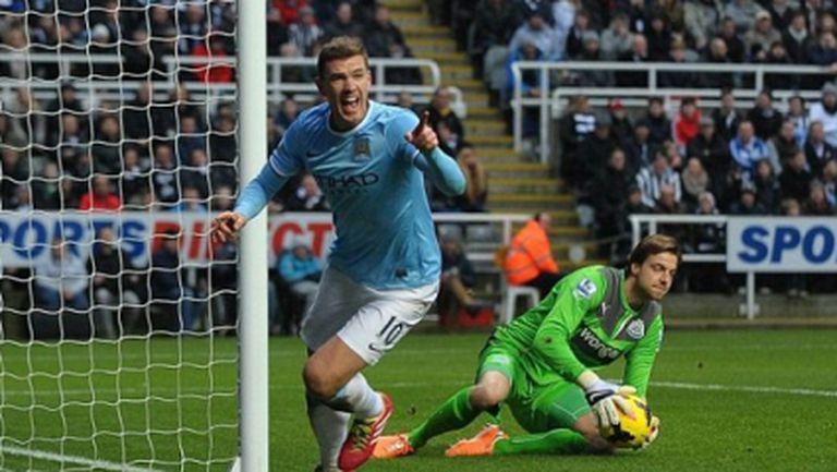 Шеста поредна победа качи Манчестър Сити на първото място