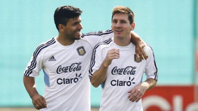 Агуеро: И с един гол на сезон, Меси пак ще е по-велик от Роналдо