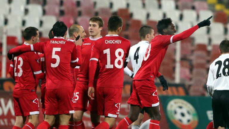 Берое ще играе контрола с ЦСКА