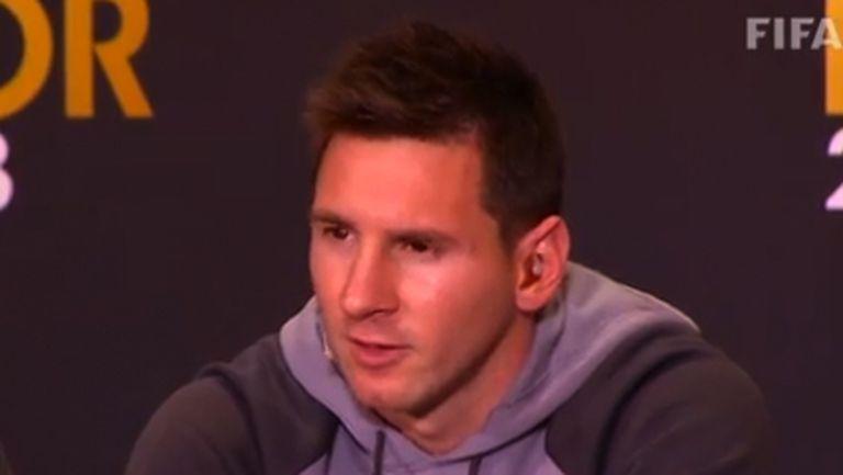 """Меси: Надявам се пак да спечеля """"Златната топка"""""""