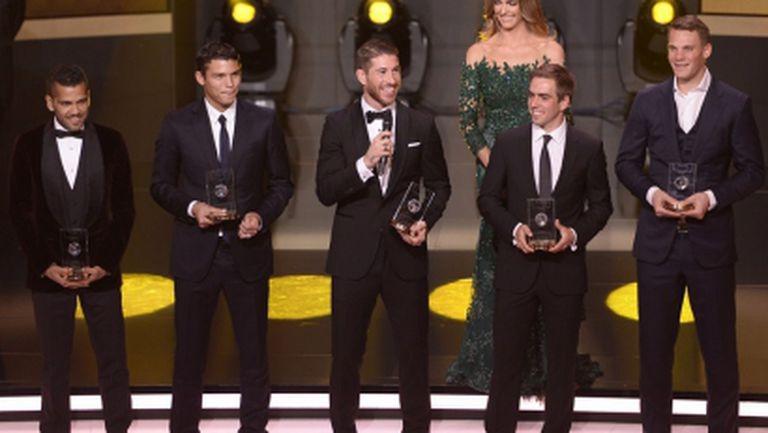 11-те на ФИФА без футболист от Висшата лига