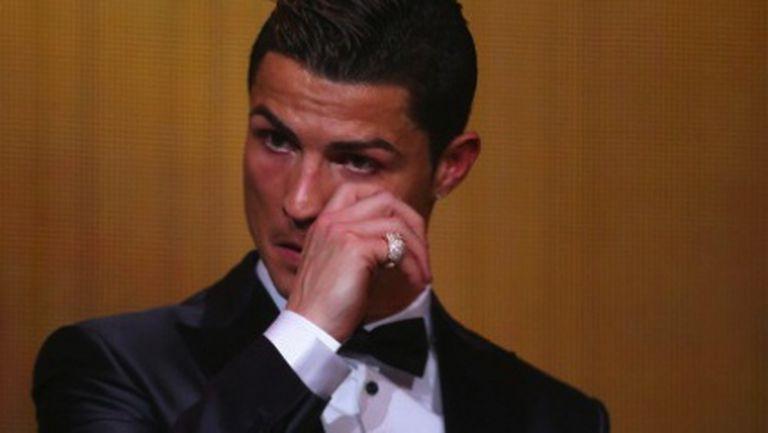 Роналдо през сълзи: Посвещавам наградата на Еузебио (видео + галерия)