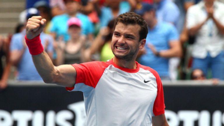 Великолепно! Григор Димитров написа нова златна страница в историята на българския тенис (ГАЛЕРИЯ)