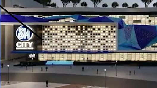 МОЛ-ът на Диксън копие на филипински проект (снимки)